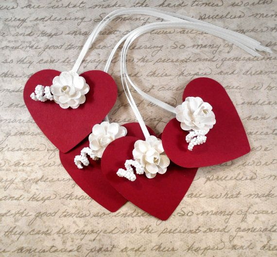 Check Out 8 Valentines Day Gift Tags Wedding Favors Wish Handmade
