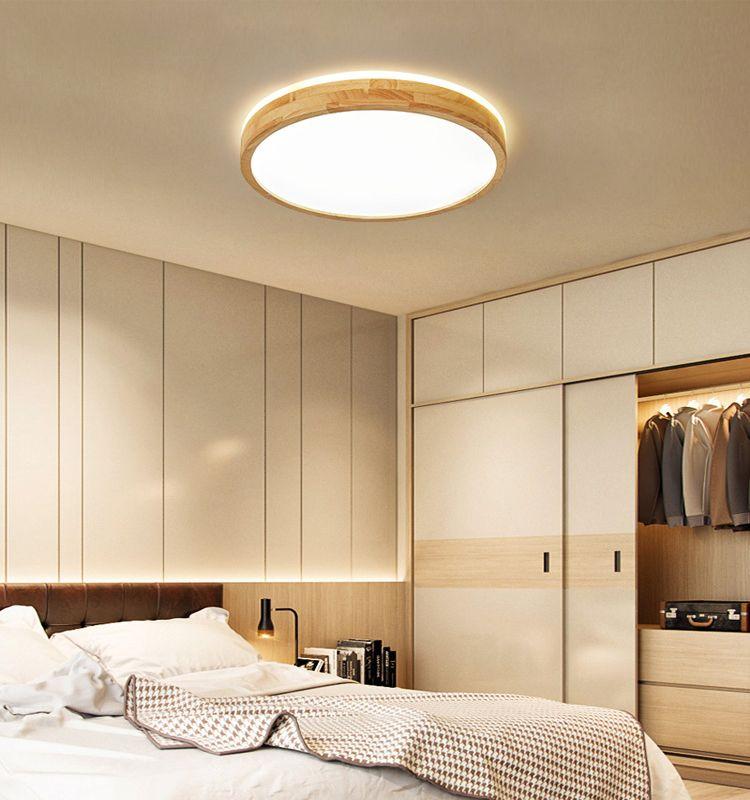 Led Modern Remote Control Ceiling Light Bedroom Ceiling Light