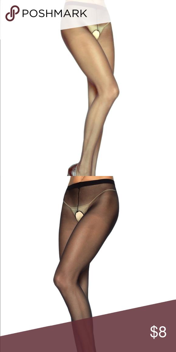 2448d376d15 sheer nylon crotchless pantyhose NIP this listing is for one (1) pair sheer  nylon crotchless pantyhose NIP Leg Avenue Accessories Hosiery   Socks