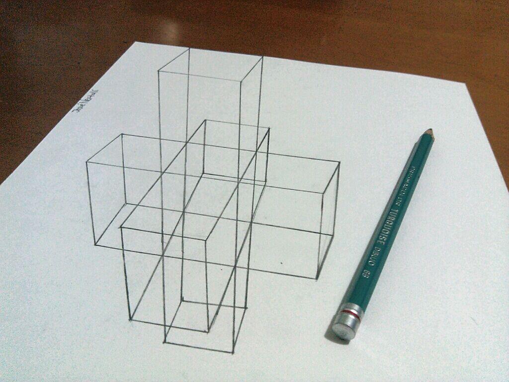 Dibujos 3D a lapiz Arte anamrfico  Dibujos 3d Lpiz y 3d