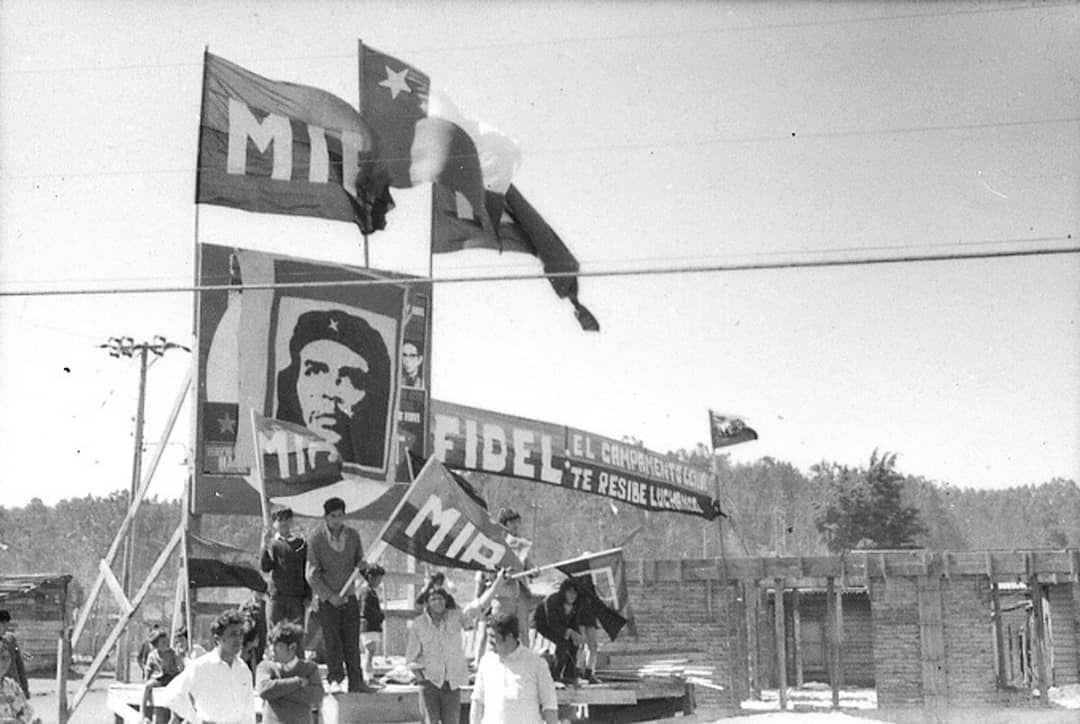 """Izquierda Guevarista de Chile compartió una publicación en Instagram:  """"Fotografia: Escenario montado en el """"Campamento Lenin"""" (…   Fotografia,  Instagram, Campamento"""