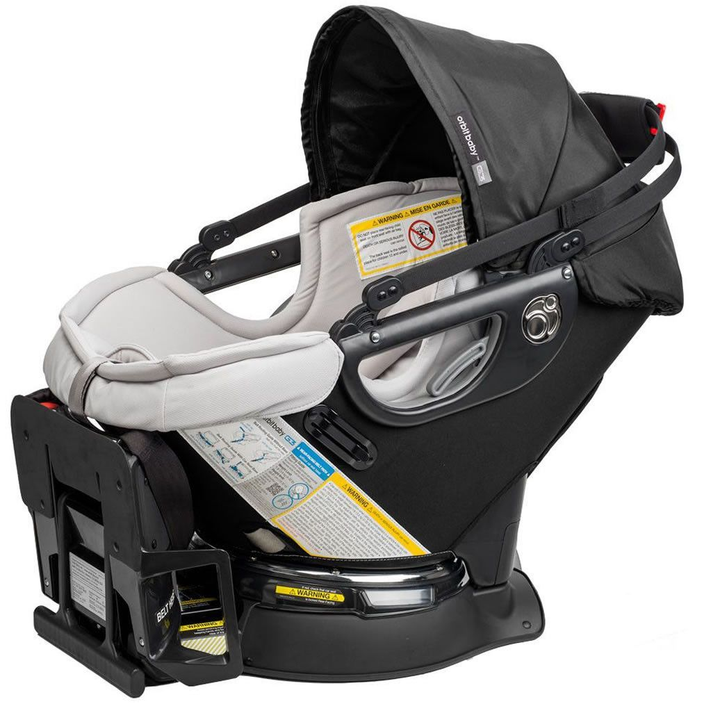 Orbit Baby's G3 Infant Car Seat offers state-of-the-art safety ...