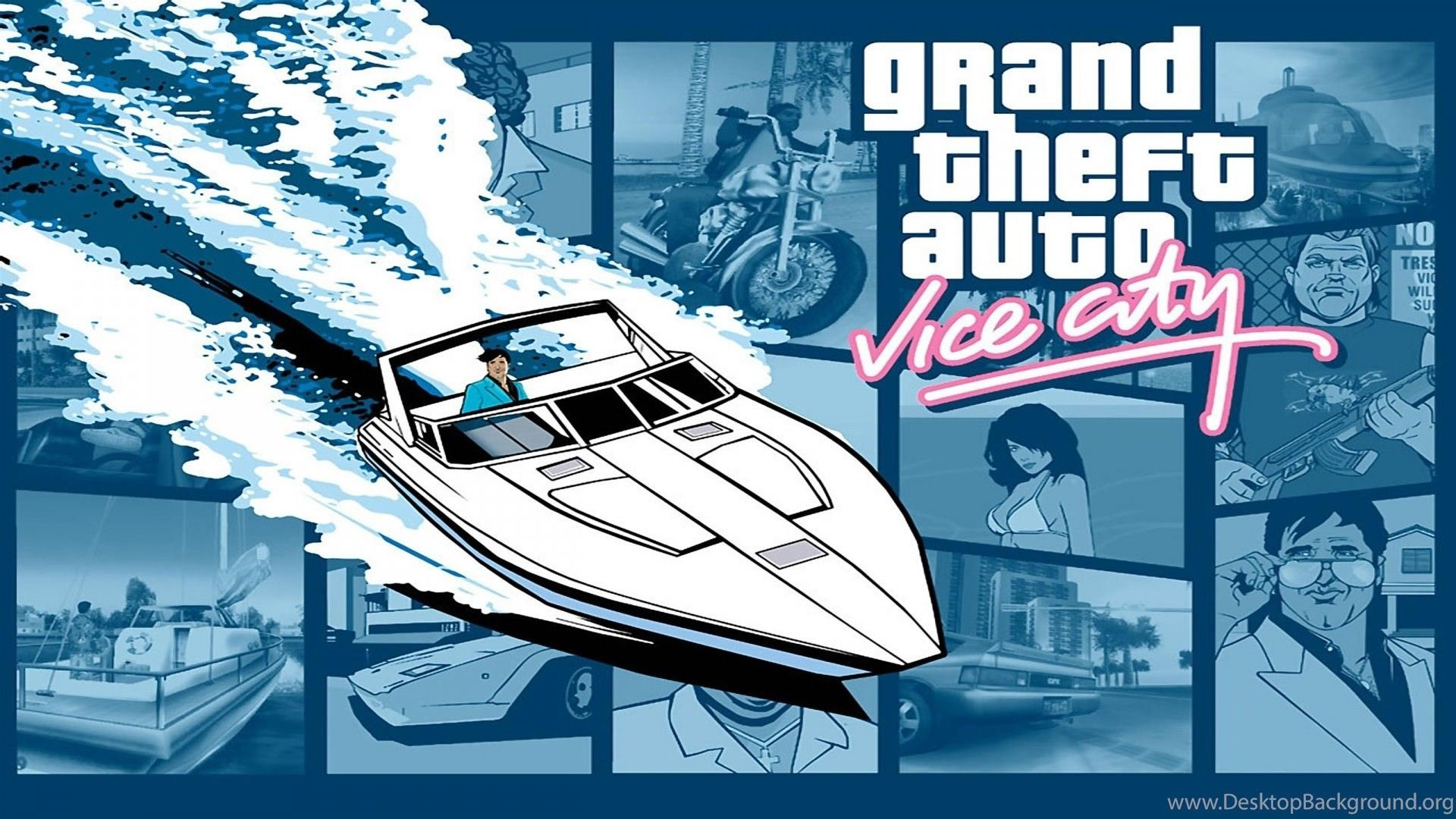 Gta Vice City Wallpapers 67 Images Grand Theft Auto Gta Grands