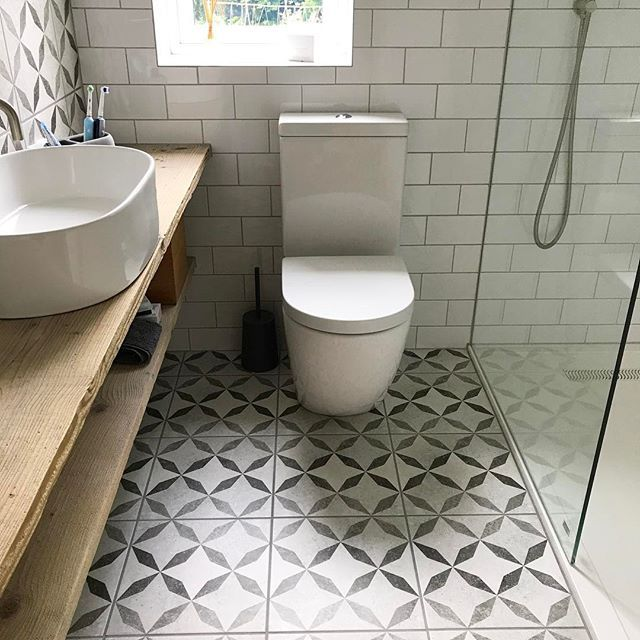 Create An On Trend Feature Floor With These Concrete Grey Floor Tiles Perfect For Hallways Kitchens A Tile Floor Bathroom Design Small Bathroom Color Schemes