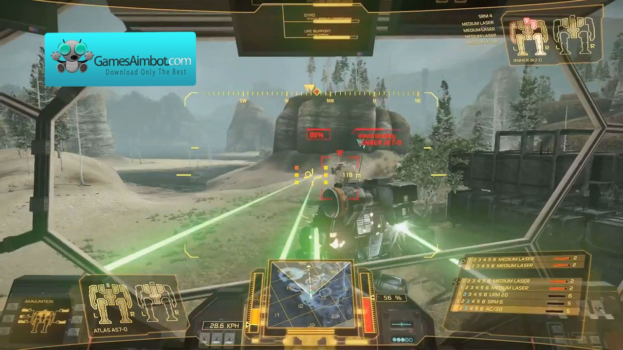 Play like a pro with our mechwarrior aimbot more about it on our