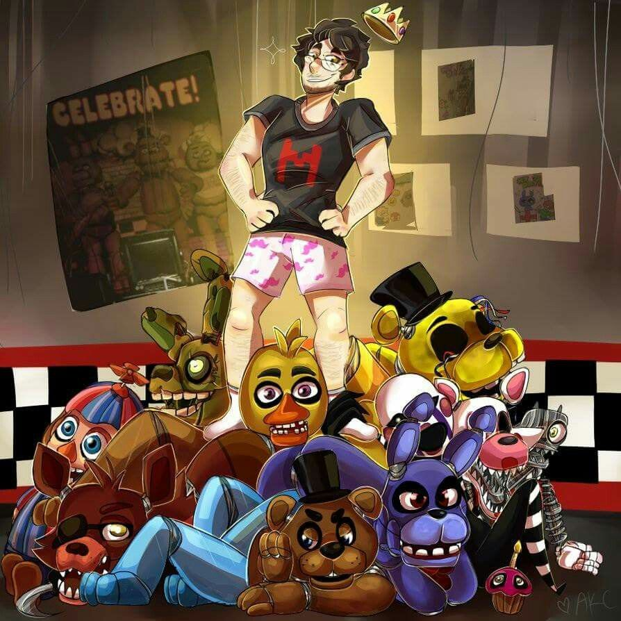 King of Five nights at Freddy's... without pants...