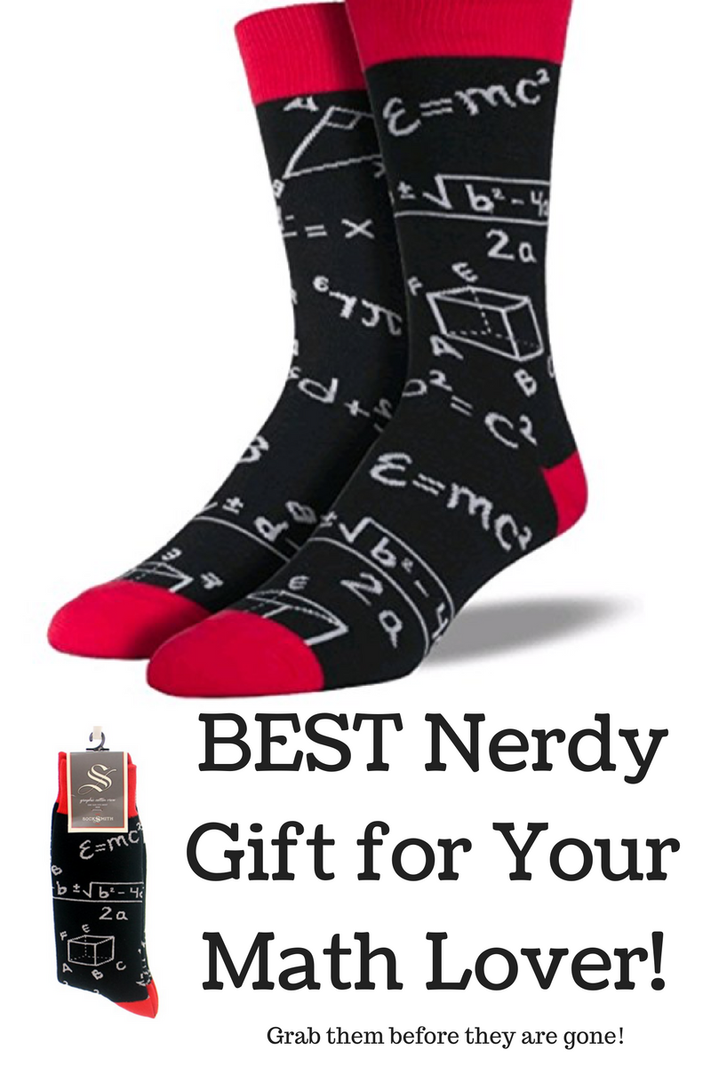 Best gift for the math nerd. Great for math teachers and computer ...