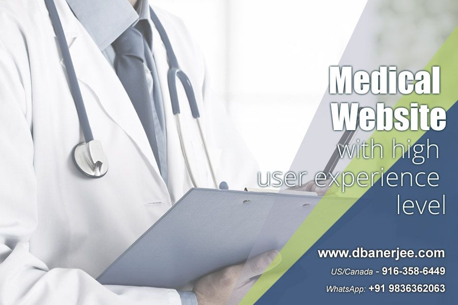 Get a #Medical #Website with high user experience level Website design for #healthcare #services in United States is different from designing sites for other services. Medical websites must be neither too #professional nor too casual in design.  http://dbanerjee.com/united-states-medical-website-for-elderly-care/