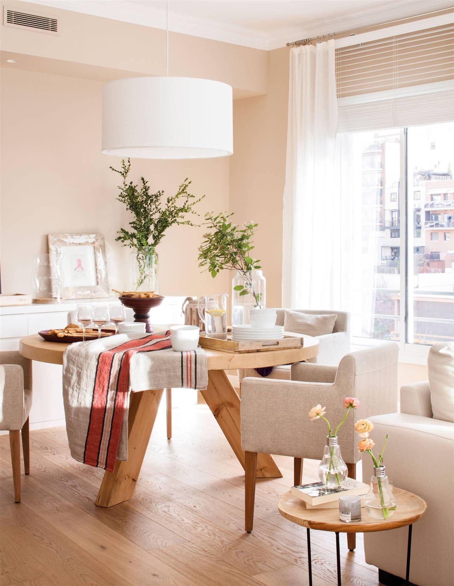 Confort ante todo dream diners pinterest for Mesa de comedor en la sala de estar