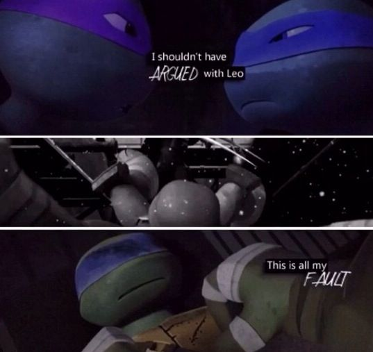 Leo and Donnie TMNT | TMNT | Teenage ninja turtles, Ninja