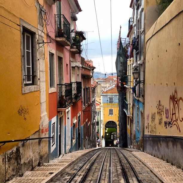 Hilly and Colorful Lisbon, Portugal - Photo by theblondegypsy