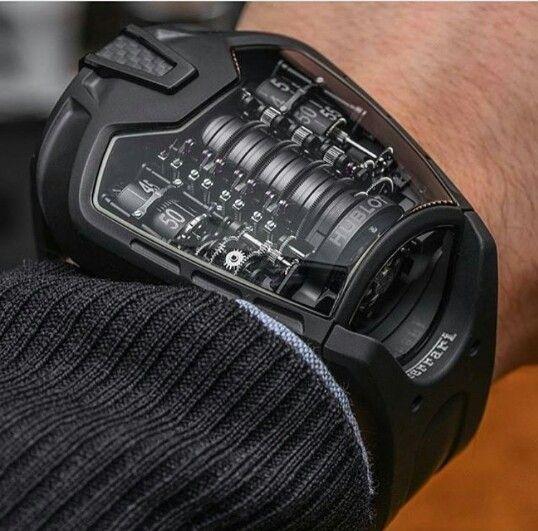 The Hublot Mp 05 La Ferrari All Black Best Watches For Men Luxury Watches For Men Watches For Men
