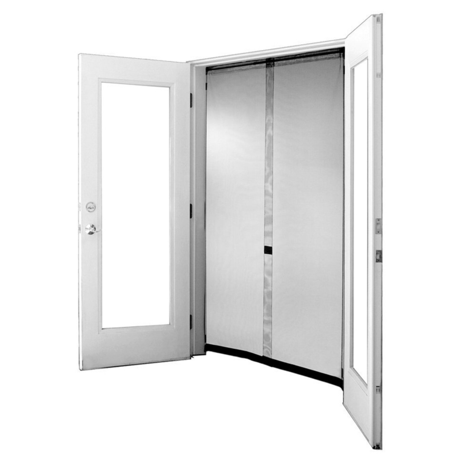Bug Off Instant Screen French Instant Screen Door Instant Screen Door Magnetic Screen Door French Doors With Screens