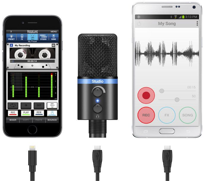 IK Multimedia unveils the iRig Mic Studio and PowerBridge