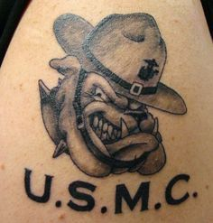 marines bulldog tattoo usmc tattoos on pinterest marine corps tattoos usmc 4326