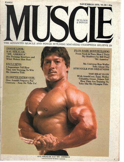 Muscle Builder November 1976 Muscle builder, Muscles and Bodybuilder