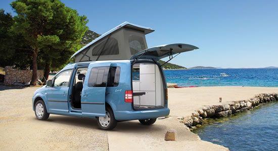 weekender plus caddy camper campervan camping. Black Bedroom Furniture Sets. Home Design Ideas