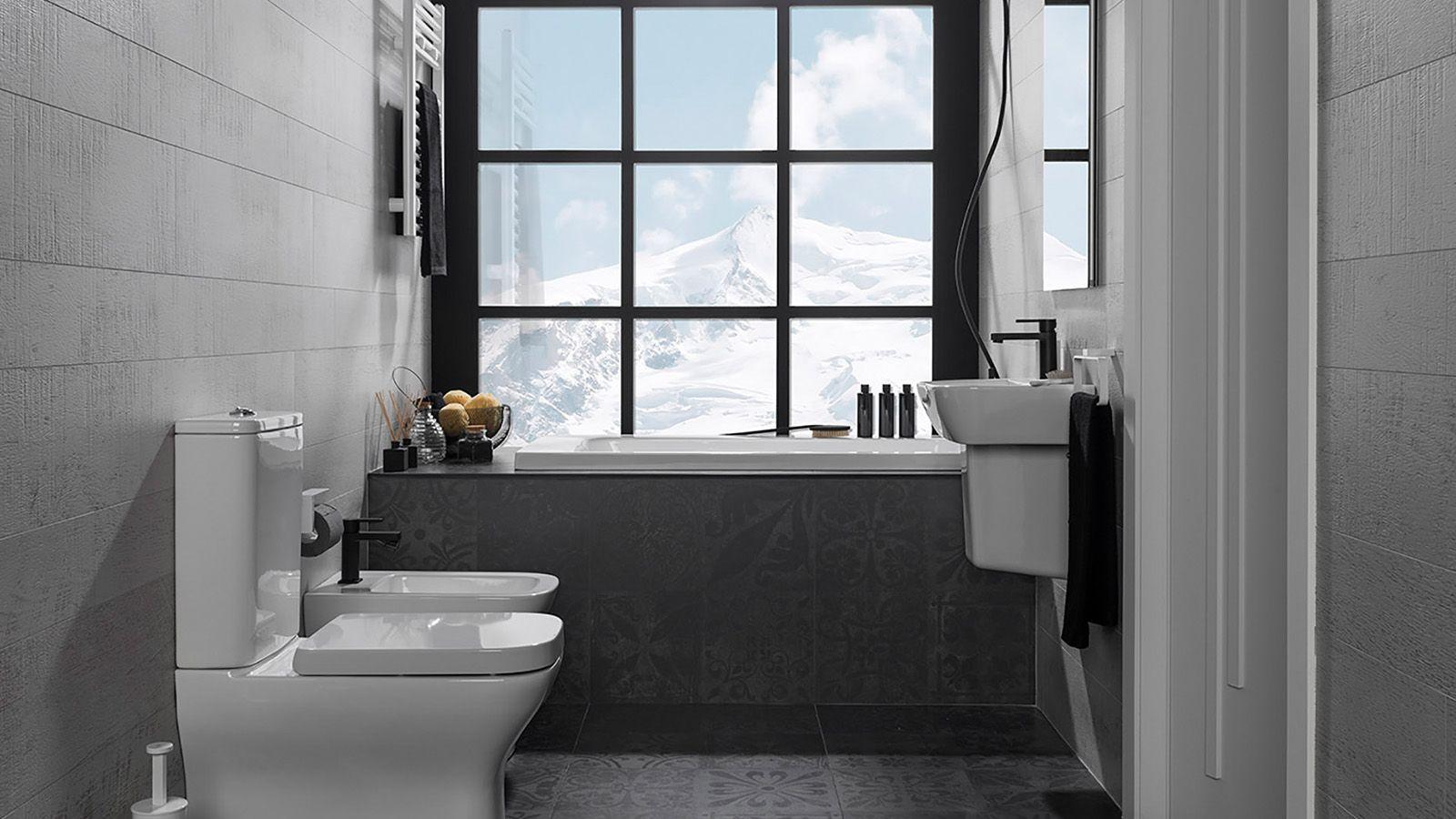 Bathroom layout ideas en 18  Distribución del baño, Estilos de