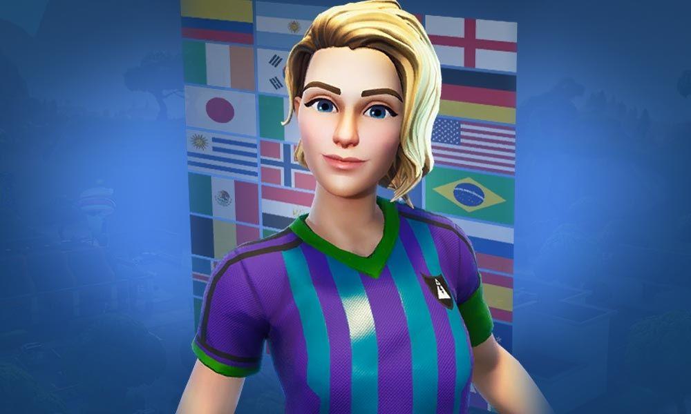 Soccer Skin Fortnite Zombie Finesse Finisher Fortnite Skin Blonde Soccer Girl Soccer Girl Skin Girl