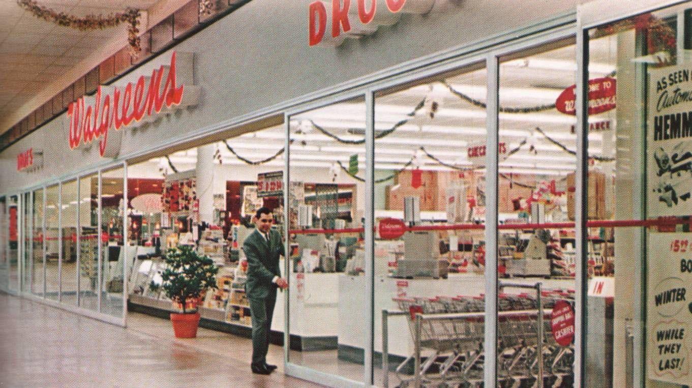 Walgreen S 1965 Vintage Mall Walgreens Vintage Shops