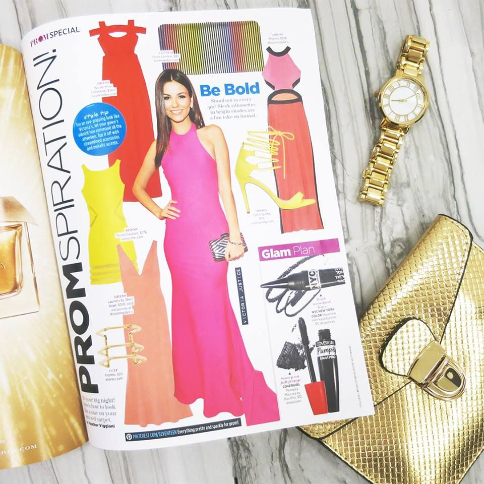 Seventeen Magazine urges you to shop bold with Laundry for Prom this ...