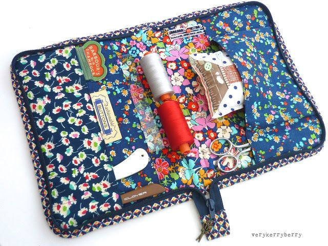 Liberty Sewing Portfolio - free pattern | verykerryberry | Sew This ...