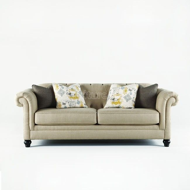 Hindell Park   Putty Sofa Ashley Home Store