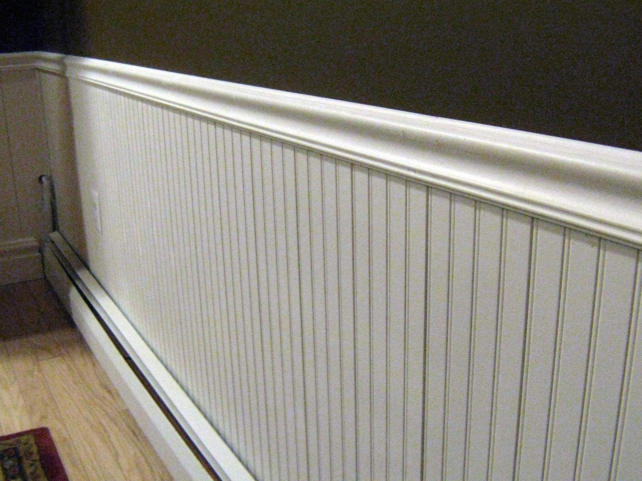 Chair Rail Cap Part - 37: Installing Wainscoting, Baseboards And Chair Rail : Decorating : Home  Garden Television