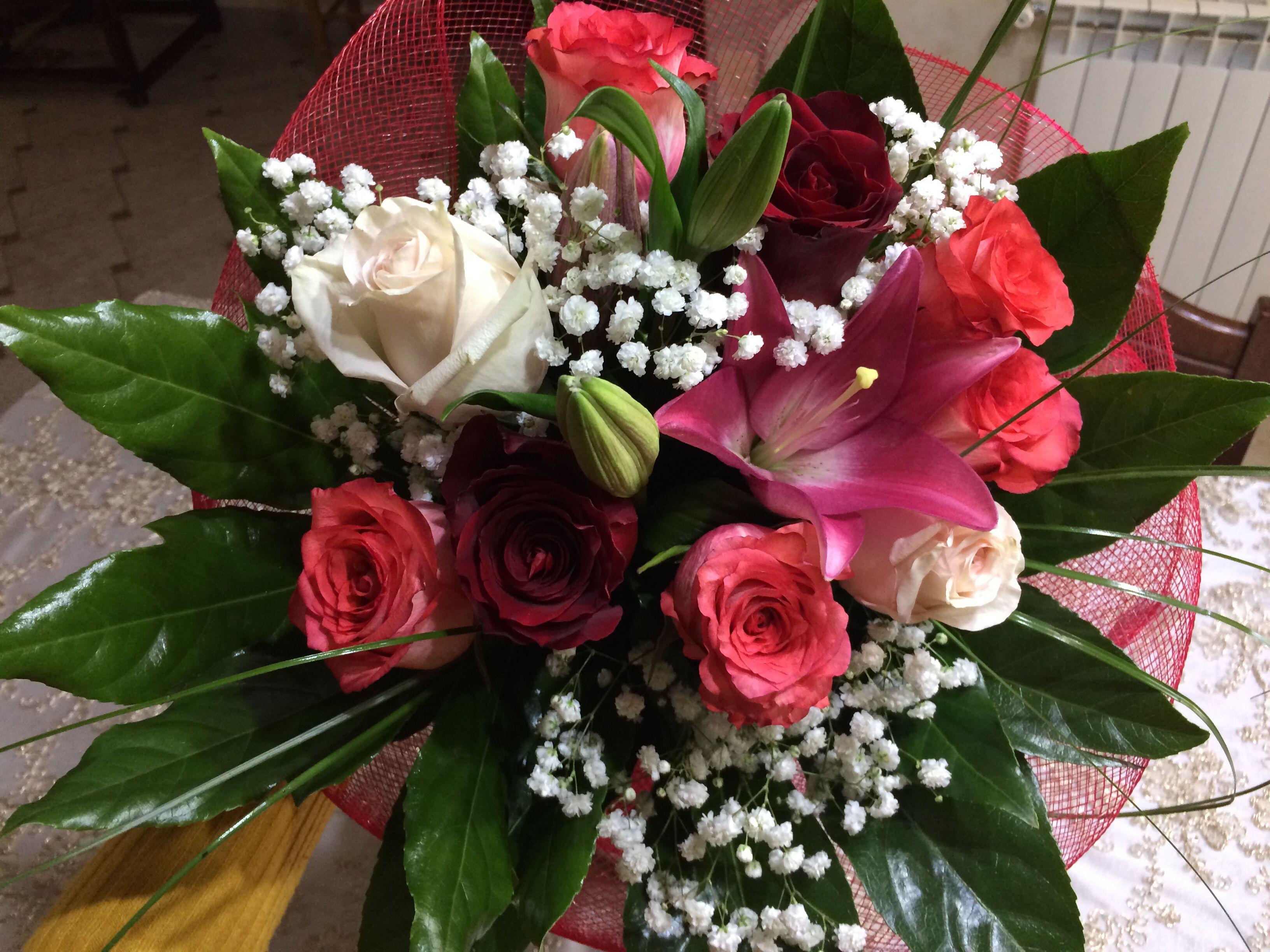 Bouquet floreale per anniversario di matrimonio  Anniversario di