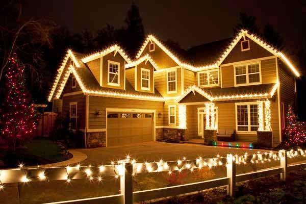 led christmas house lights