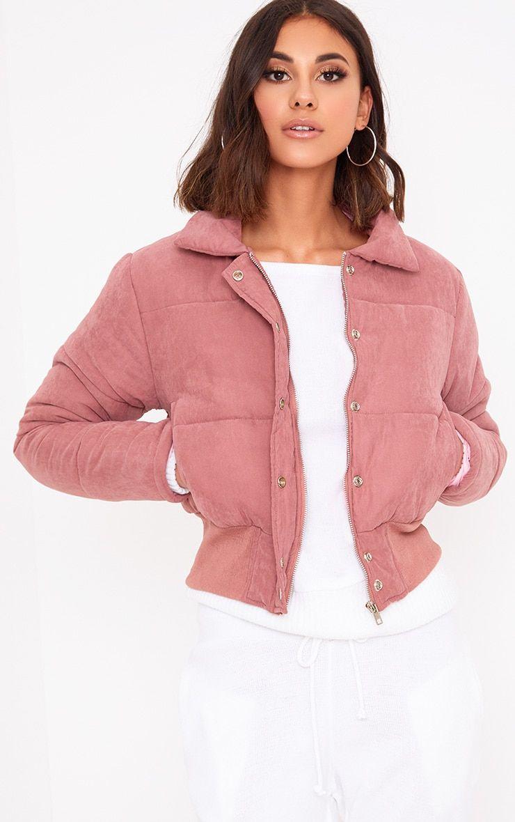 Pin By Apurva Kenkare On Style Cropped Puffer Jacket Peach Jacket Puffy Jacket Women [ 1180 x 740 Pixel ]