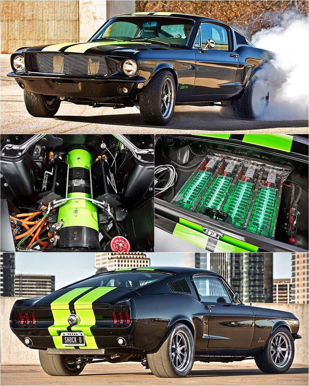 What Do You Think Of The Zombie 222 Electric Mustang By Bloodshedmotors Blacklist Ford Zombie222 Fordcliccars
