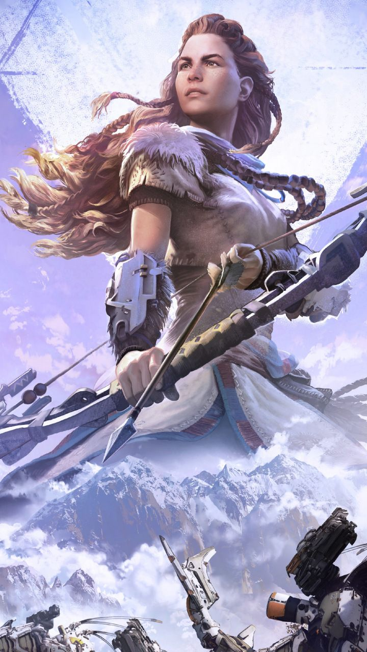 Horizon zero dawn video game aloy archer wallpaper - Horizon zero dawn android wallpaper ...