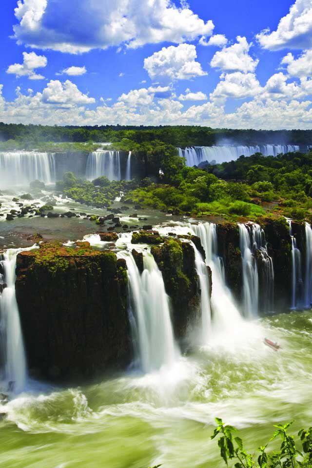 Cascadas Cataratas Del Iguazu Lugares Para Ir Cascadas Bonitas