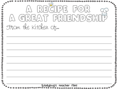 Enemy Pie Friendship Writing Activities Ideas For Lessons