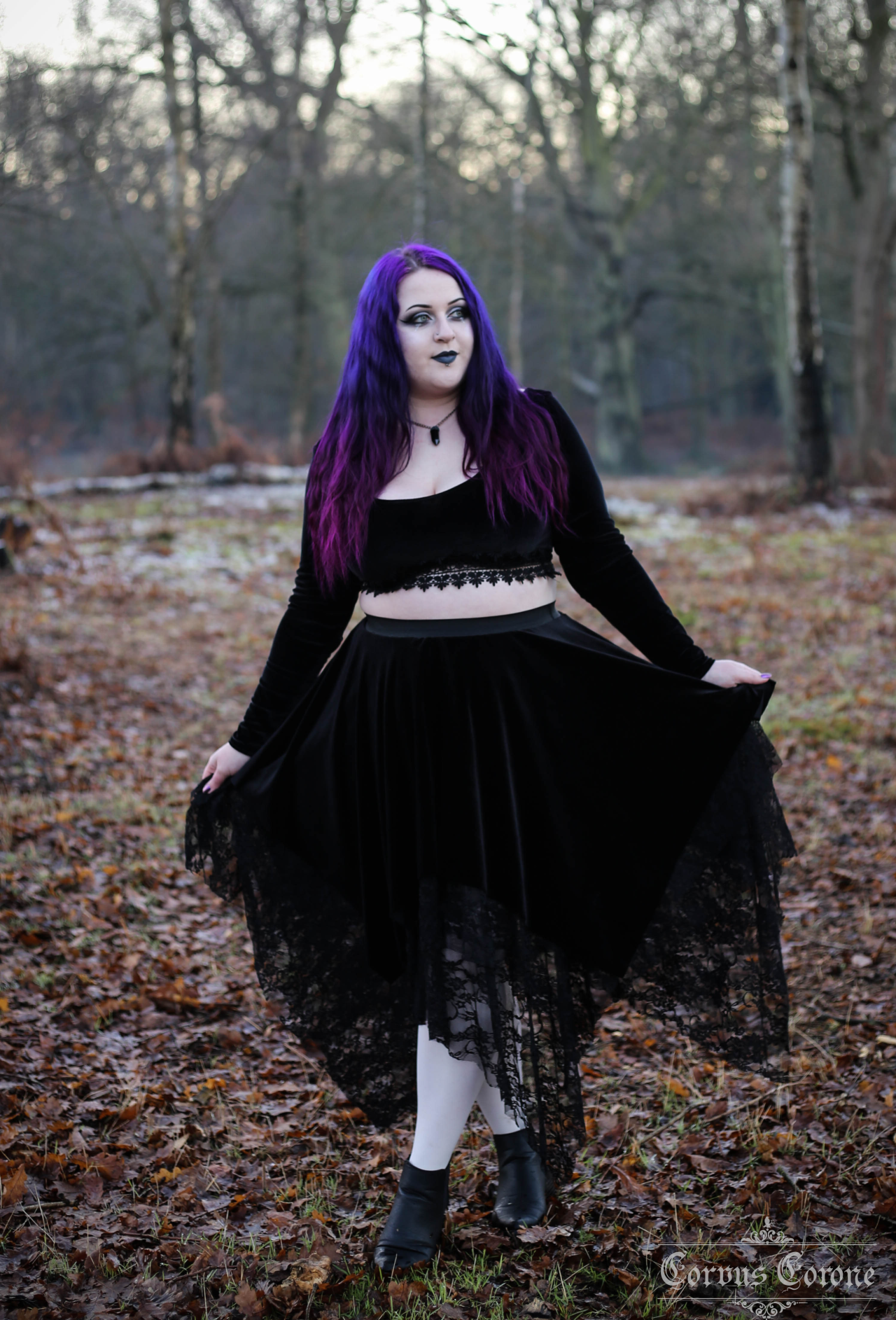 Corvus Corone: Fashion and Photography — Whimsy Skirt Autumn/Winter - Stiches for Witches...