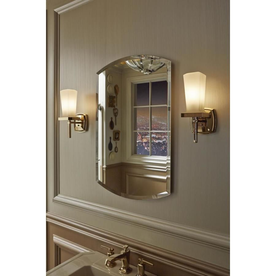 Kohler Archer 20 In X 31 In Arched Surface Recessed Mirrored Medicine Cabinet Product Image 6