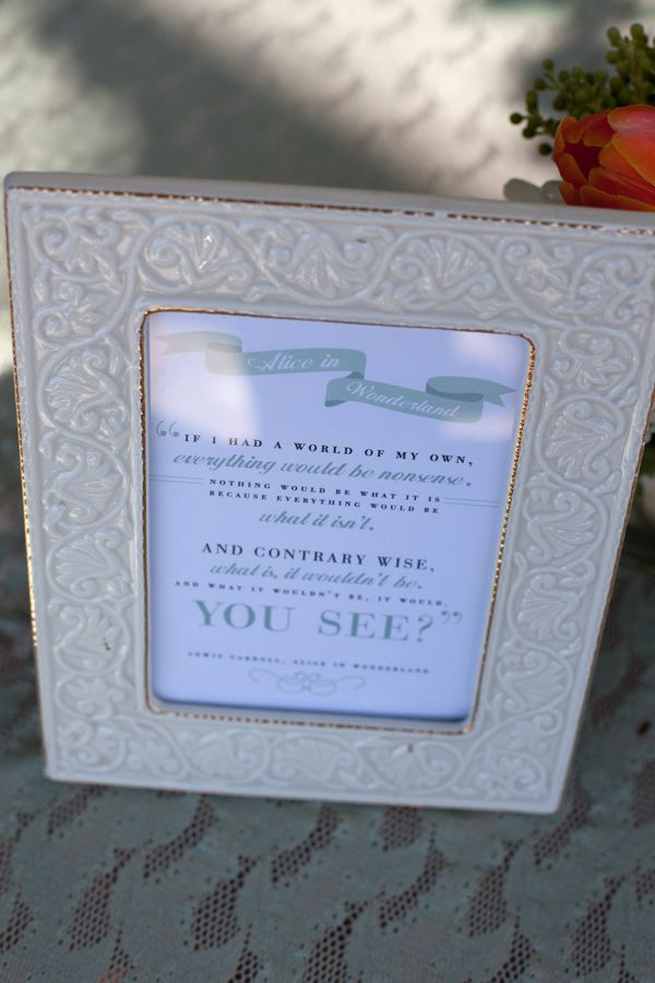 put children story quotes in pretty frames around the room... Dollar ...