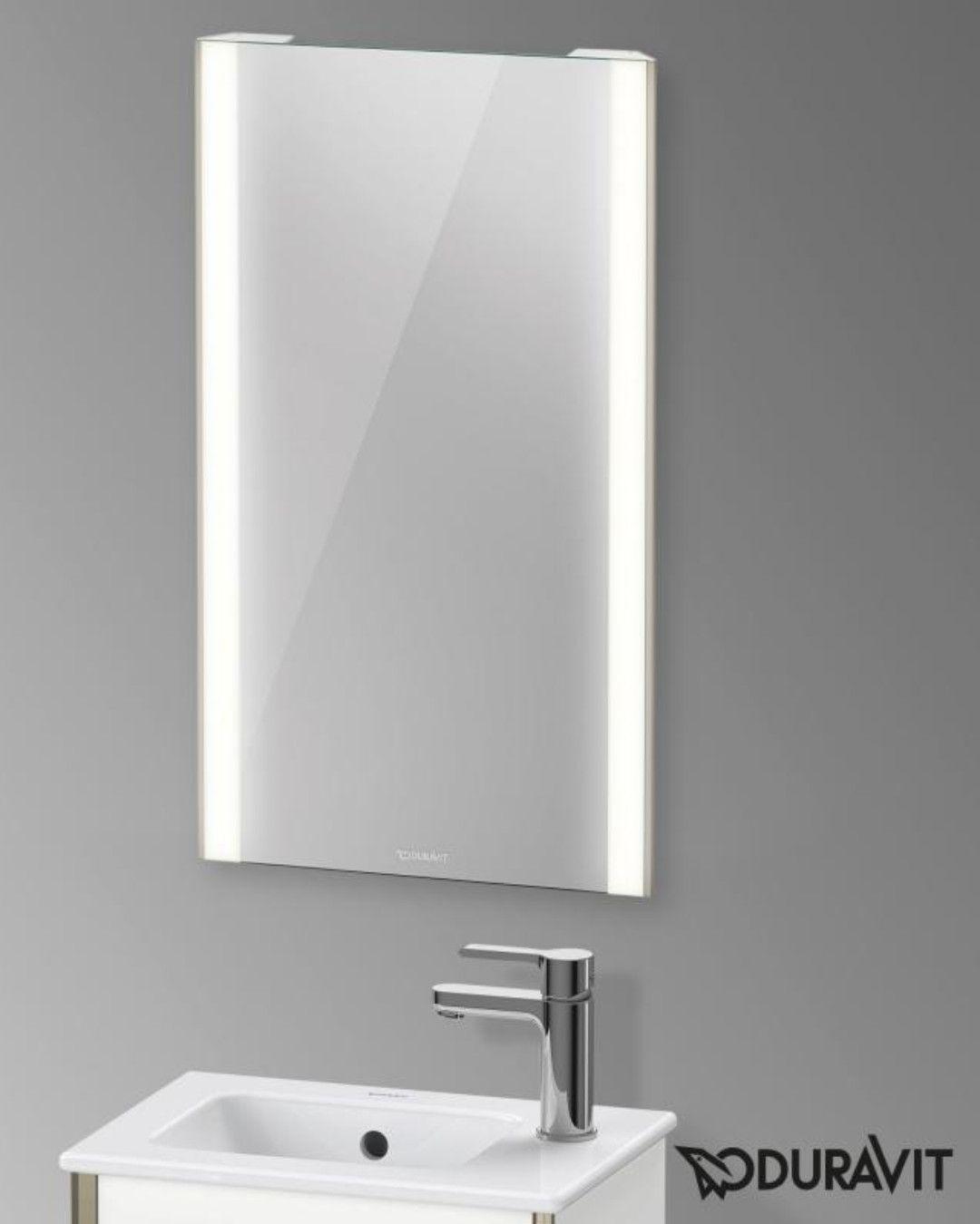 Duravit Xviu Spiegel Mit Led Beleuchtung Sensor Version Champagner Matt Xv70300b1b1 Led Spiegel Led Beleuchtung Led
