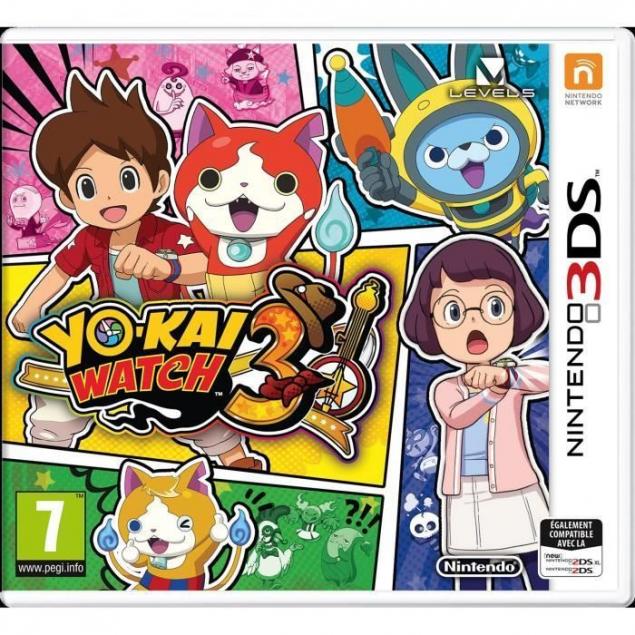 Yo kai Watch 3 Jeu 3DS videogamegenre video game genre