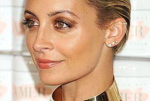 Beauty Inspiration: Nicole Richies Bronzed Metallic Eye Look (Le Fashion)