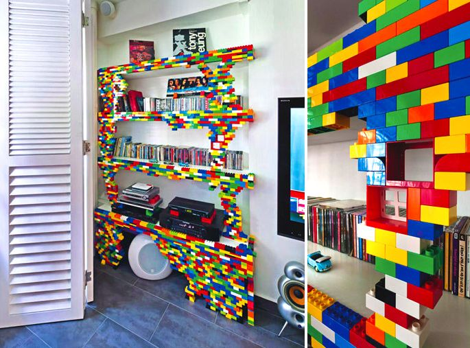 21 Insanely Cool Diy Lego Furniture And
