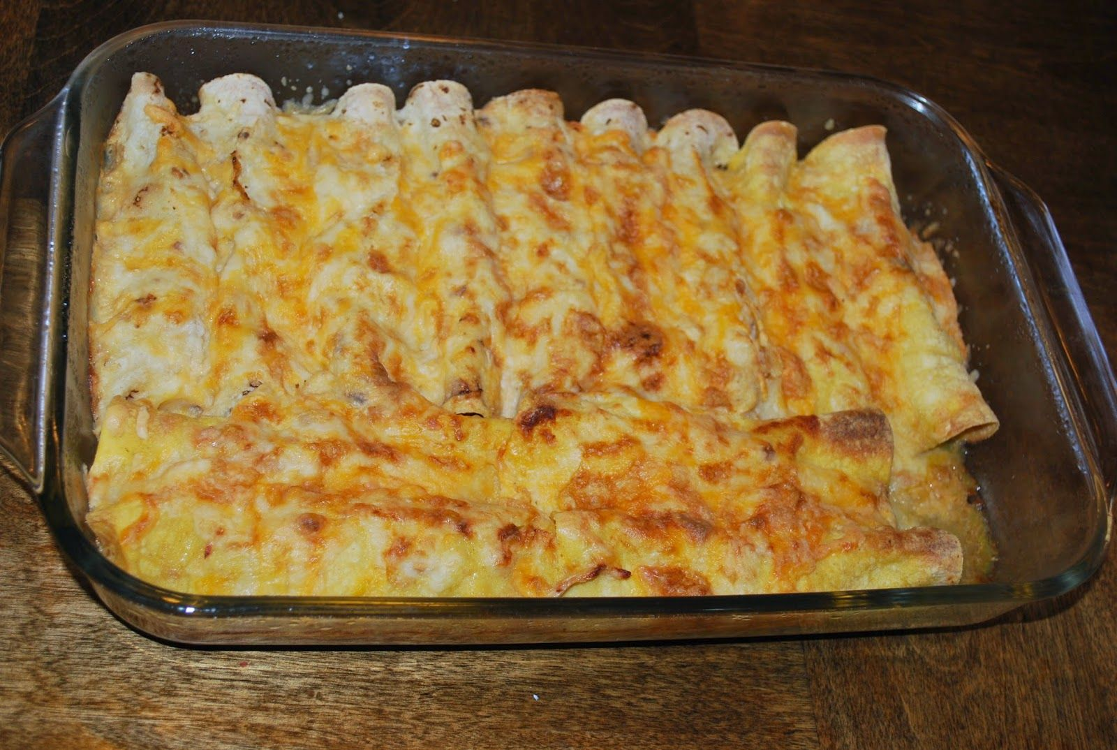 Clean Green Chile Chicken Enchiladas 21 Day Fix Approved