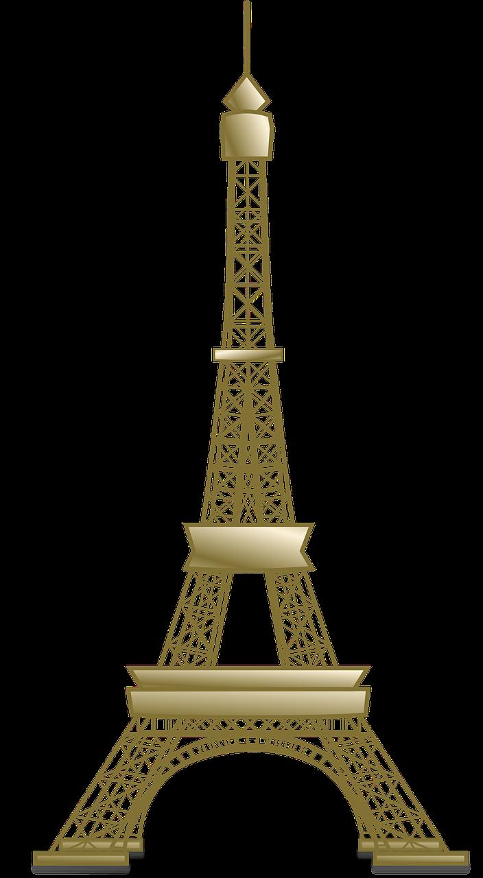 Eiffel tower french. France historica