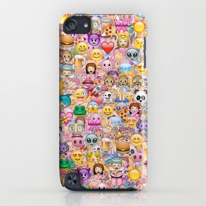 Emoji Emoticons Iphone Ipod Case By Marta Olga Klara Society6 Emoji Phone Cases Cool Iphone Cases Phone Cases