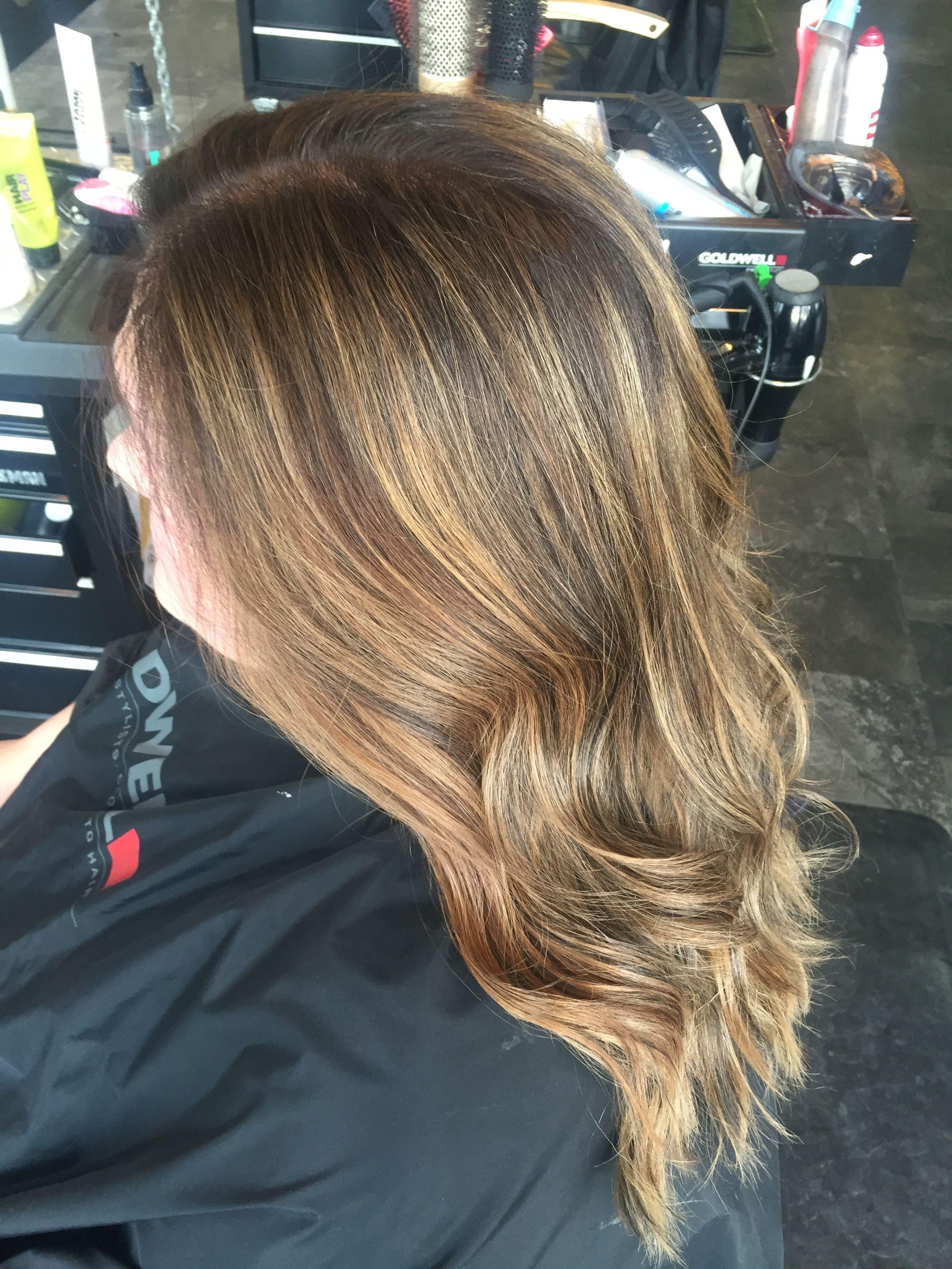 Foilayage #foilayage #hair #color #balayage