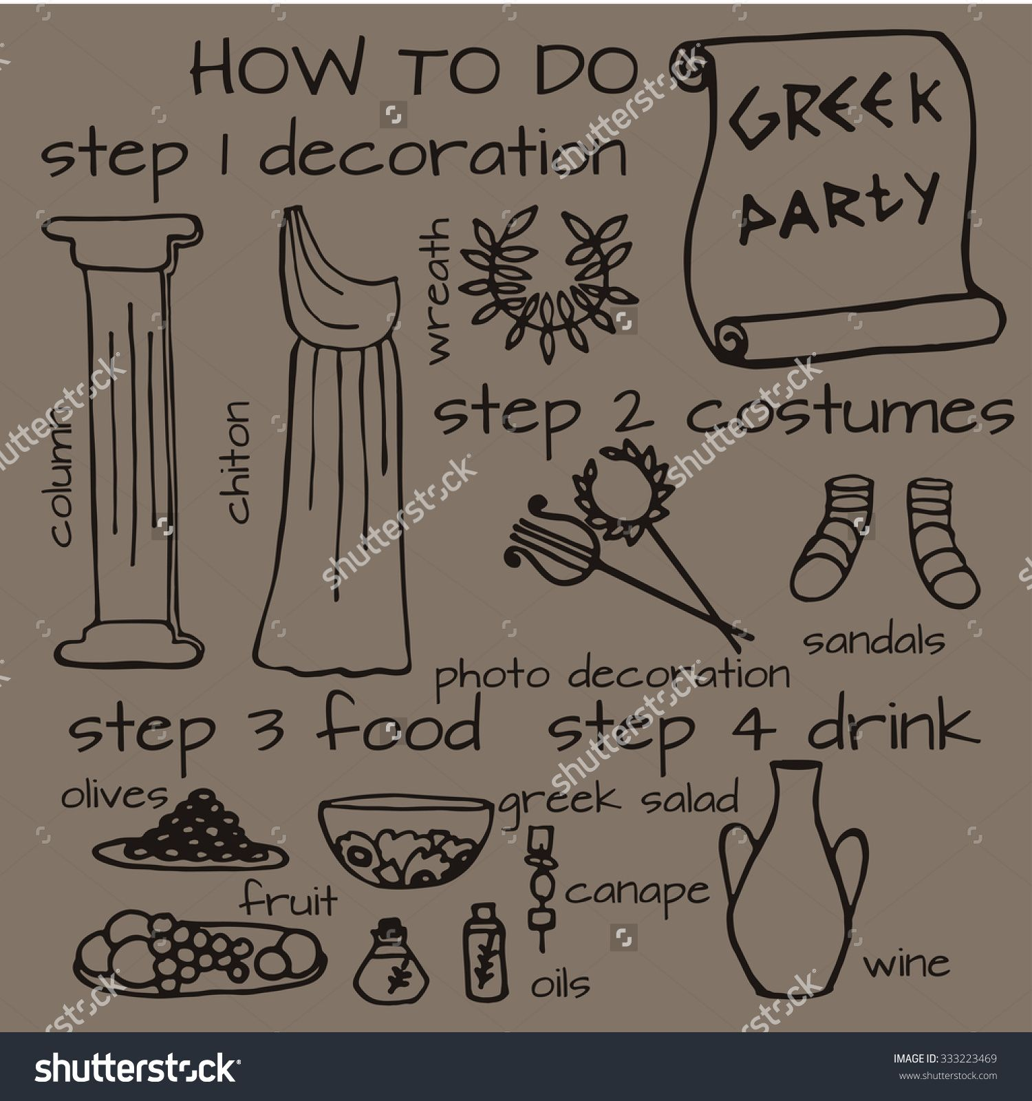 ancient greece party ideas Google Search … toga party