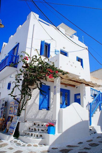 世界遺産 ミコノス島 ミコノス島の絶景写真画像 ギリシャ   ミコノス ...