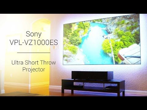 Sony Hdr Ultra Short Throw Projector Vpl Vz1000es And Zero Edge