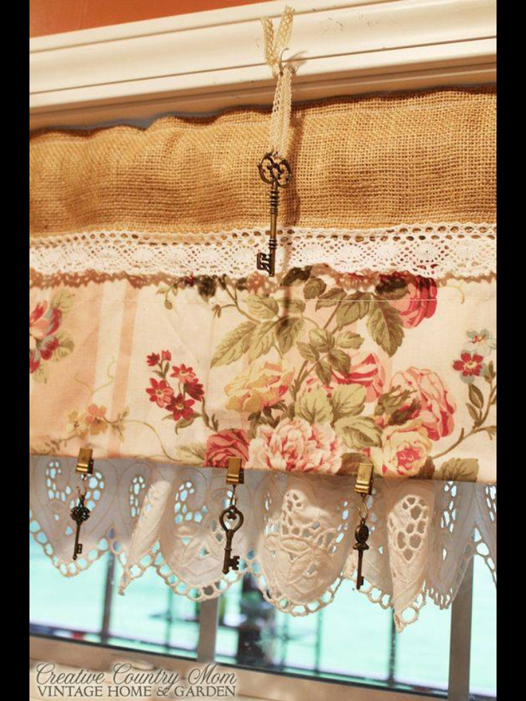 Keuken Valletjes Rustic Valance Curtains In 2018 Pinterest Gordijnen